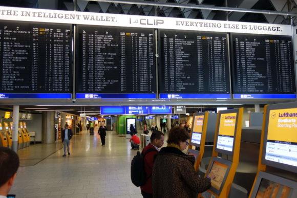 Anreise von Esslingen bis Windhoek