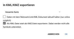Download der KML Datei