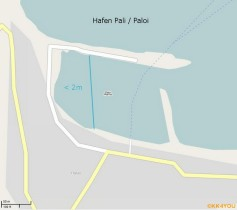 Nisyros OSM Map Hafen Pali / Paloi in 2011