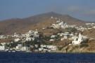 Blick auf Hafen und Chora