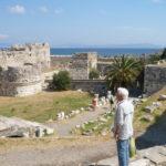 Blick auf die Festungsanlage