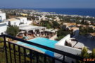 Ausblick vom Creta Blue Boutique Hotel auf Limenas Chersonisou