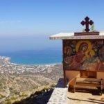 Kreta -Kloster unterhalb von Mochos