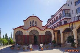 """Kloster """"unbekannt"""" oberhalb von Mochos"""