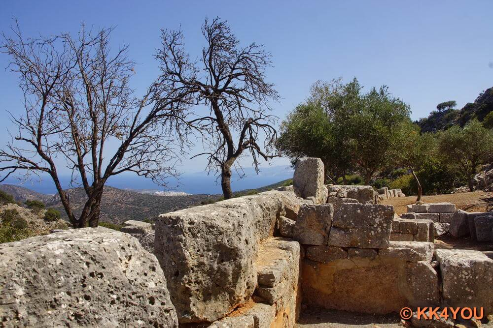 Kreta -Antike Stadt Lato