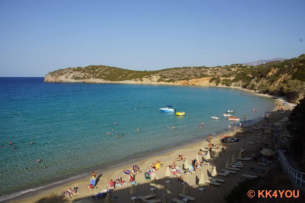 Golden Beach bei Istro auf Kreta