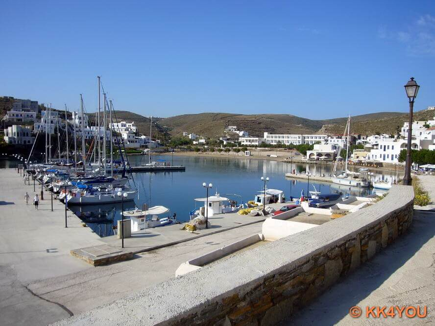 Kythnos -Hafen Loutra