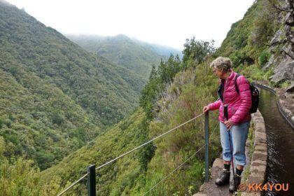 Levada Wanderung im Naturschutzgebiet Rabaçal -25 Quellen (Fontes)