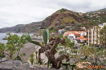 Blick vom Aussichtsturm auf Ribeira Brava