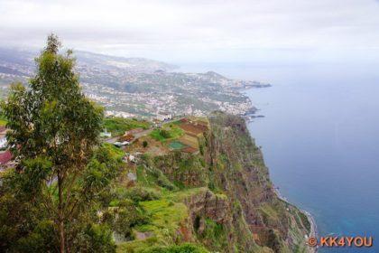 Madeiras Südküste -Blick vom Miradouro do Cabo Girão