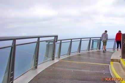 Miradouro do Cabo Girão -Skywalk aus transparentem Glas