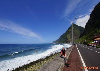 Madeiras Nordküste -Küstenstraße in São Vicente