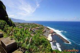 Madeiras Nordküste -Blick auf Ponta Delgada