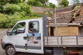Korbschlittenfahrt- Rücktransport