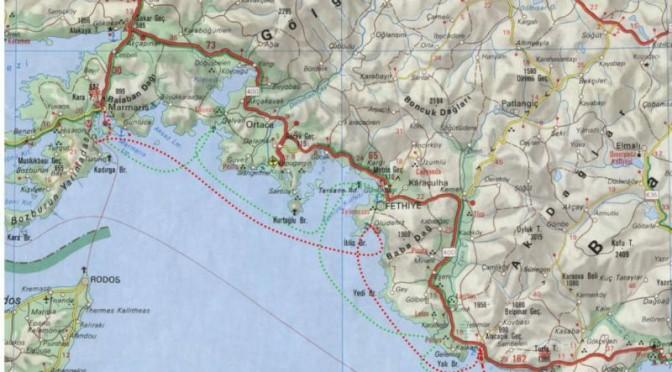 Blaue Reise zwischen Marmaris und Kas