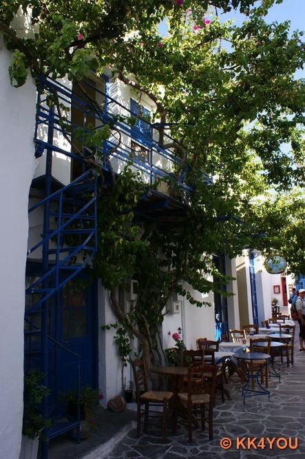 Impressionen eines Kykladendorfes -Plaka auf Milos