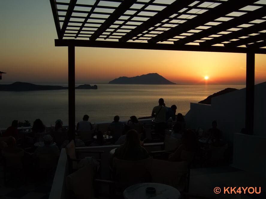 Sun Set Cafe Utopia in Plaka