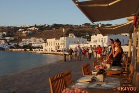 Strand Mykonos Stadt (Chora)