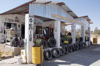Tankstelle und Imbiss Kamanjab
