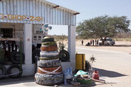 Tankstelle Kamanjab