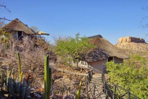Unser Bugalow auf der Vingerklip Lodge
