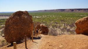 Blick von der Fingerklippe auf das Ugab-Tal