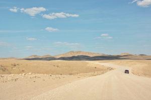 Namib, hohes Verkehrsaufkommen