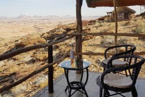 Namib's Valley -Blick vom Bugalow