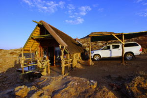 Namib's Valley -unser Bungalow