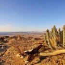 Namib's Valley of a Thousand Hills im Hochland der Namib