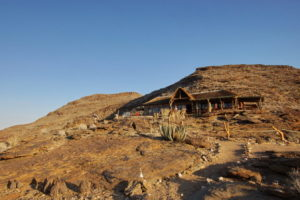 Hauptgebäude Namib's Valley
