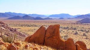 Panoramablick zur Namib