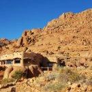 Fest Inn Fels in den Tirasbergen, ein Paradies im Nirgendwo