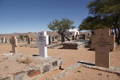 Soldatenfriedhof in Aus