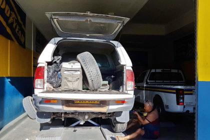 Super Service, zwei neue Reifen
