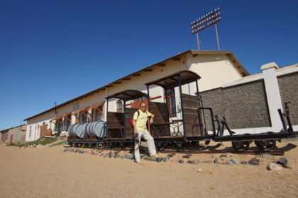Alte Bahn von Kolmannskuppe nach Lüderitz
