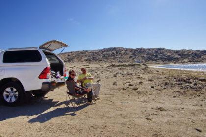 Picknick in der Messemb Bay