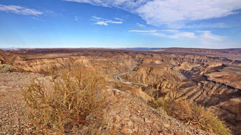 Blick in den Canyon