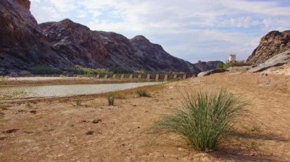 Staudamm des Fischfluss (Fish River) bei Ai-Ais