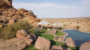 Pool der Fish River Canyon Lodge