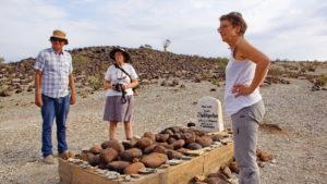 Schutztruppengrab auf der Farm Mesosaurus Fossil Camp