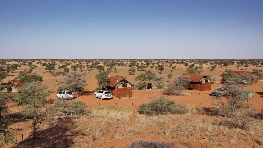 4 Zelte des Wilderness Camp Gharagab