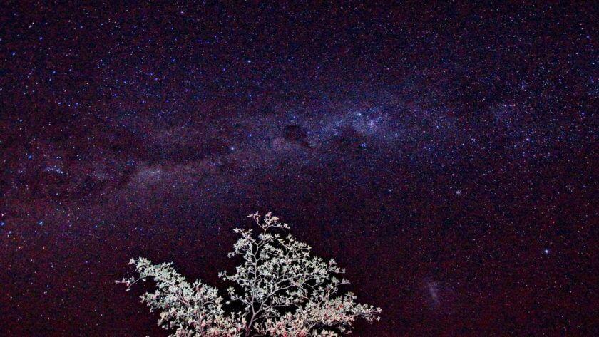 Milchstraße über Gharagab
