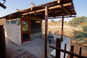 Kalahari Tended Camp -Küchen und Grillplatz