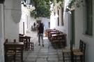 Gasse in der Chora von Naxos