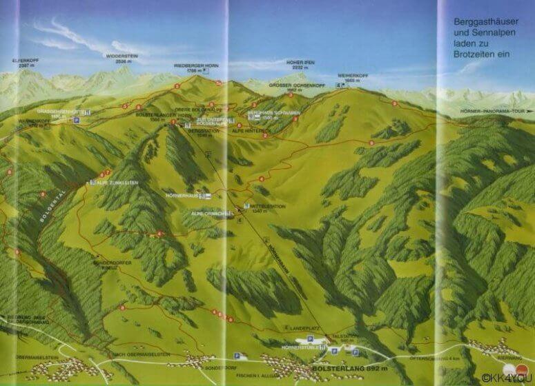 Karte Hörnergruppe