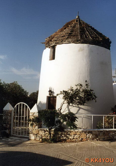 Paros -Hafen Naoussa