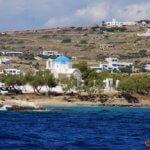 Einfahrt in die Bucht von Parikia