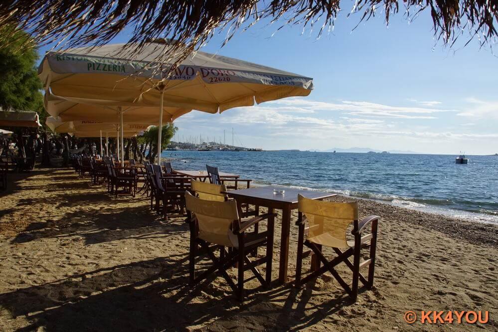 Strand vor Parikia
