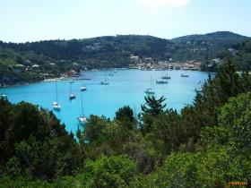 Ionisches Meer Hafen Lakka auf Paxos
